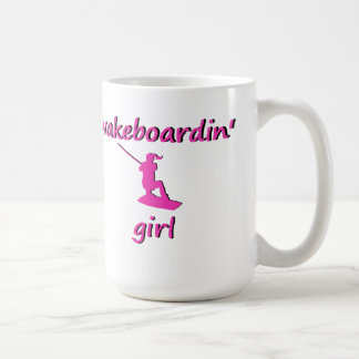 Wakeboardin' Girl Mug