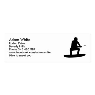 Wakeboarding Business Card Template