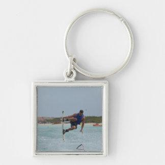Wakeboarding Grab Keychain