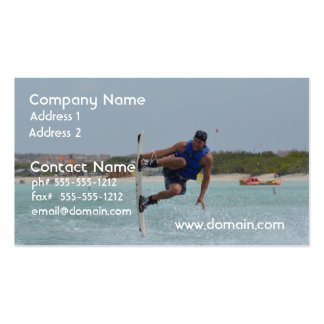 Wakeboarding Grab Pack Of Standard Business Cards
