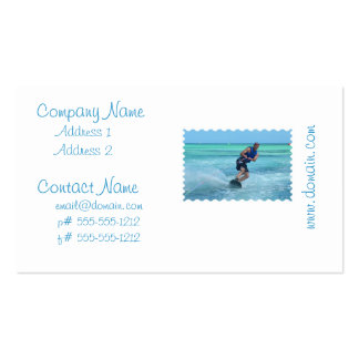 Wakeboarding in the Tropics Pack Of Standard Business Cards