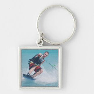 Wakeboarding Tail Grab Keychain