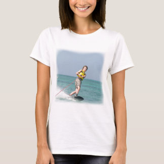 Wakeboarding Teen Ladies Shirt