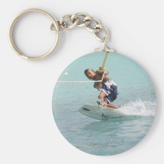 Wakeboarding Turn Keychain