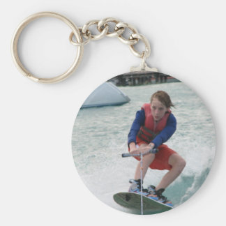 Wakeboarding Youth Keychain