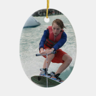 Wakeboarding Youth Ornament