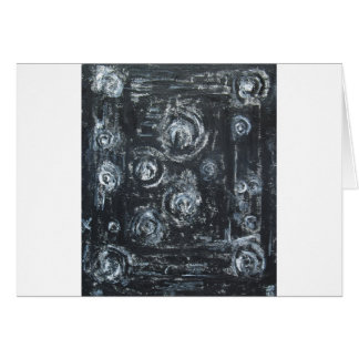 Wakes of Swirls (abstract expressionism) Greeting Card