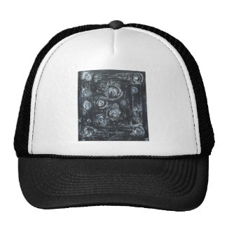 Wakes of Swirls (abstract expressionism) Mesh Hats
