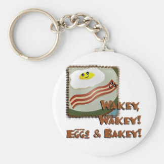 Wakey Eggs & Bakey Keychains