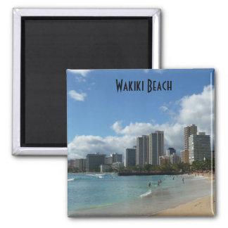 Wakiki Beach Hawaii Photo Magnet Oahu Honolulu