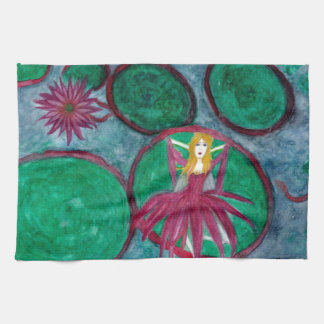 Waking Lily Hand Towel
