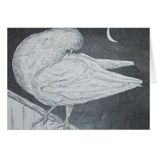 Waking pigeon card