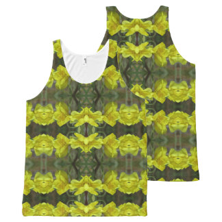 Waking Up 2 All-Over Print Singlet
