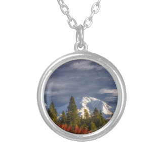 Waking Up Silver Plated Necklace