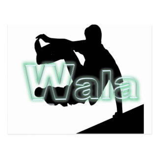 Wala's Brand Postcard