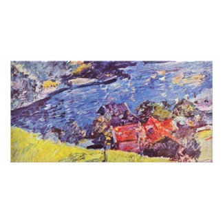 Walchensee By Corinth Lovis (Best Quality) Photo Cards