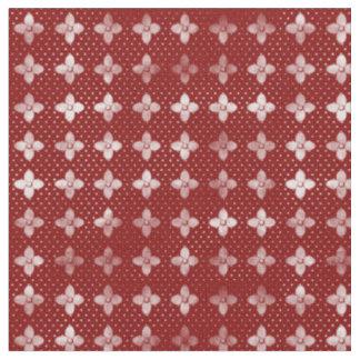 Waldcraft Batik Pattern II in Maroon Fabric