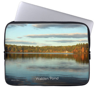 Walden Pond: laptop cover