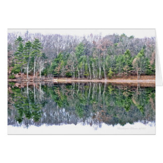 Walden Pond: Perceiving beauty with a serene min Card