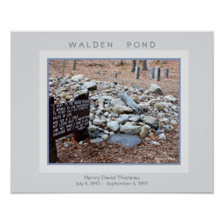 Walden Pond Poster