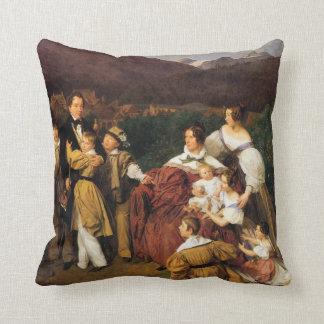 Waldmuller: The Eltz Family, Cushion