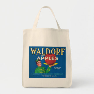 Waldorf Apples Vintage Label
