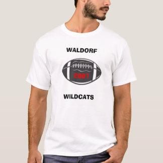 WALDORF, WILDCATS, 2007 T-Shirt