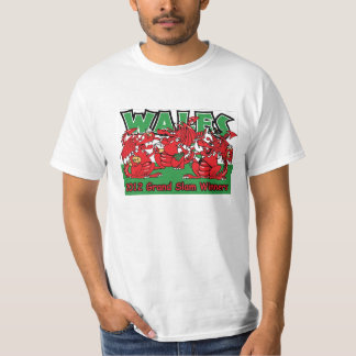 Wales 2012 Grand Slam Winners Welsh Dragons T shir T-Shirt