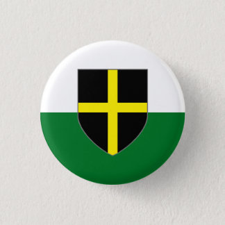 Wales Badge - St. David Shield on Green & White