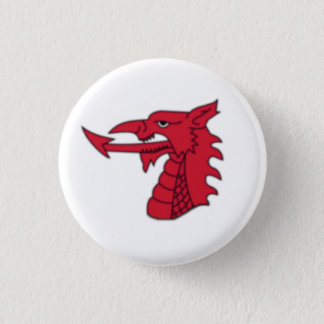 Wales Badge - Welsh Dragon Head