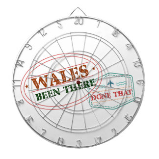 Wales Been There Done That Dartboard