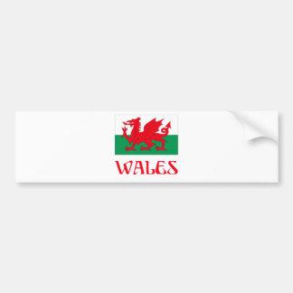Wales Bumper Sticker