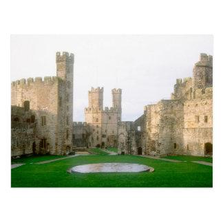 Wales Caernarfon castle one of Edward s 2 Postcards