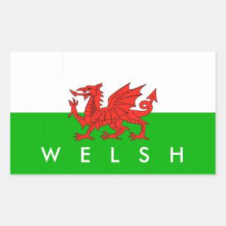 wales country flag british nation welsh symbol rectangular sticker