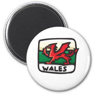 Wales Design Refrigerator Magnet