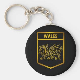 Wales Emblem Key Ring