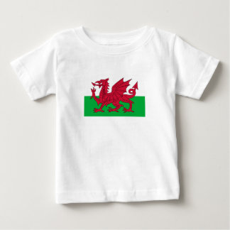 Wales Flag Baby T-Shirt