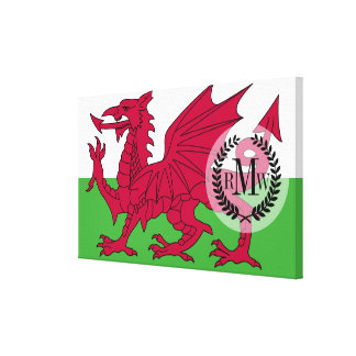 Wales Flag Canvas Print