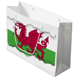Wales Flag Large Gift Bag