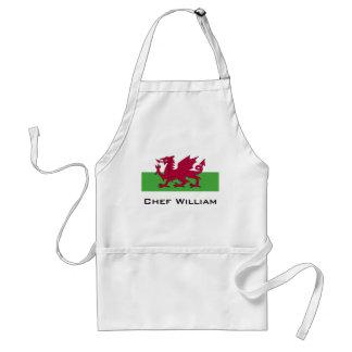 Wales Flag Standard Apron