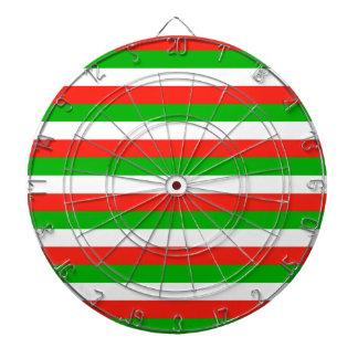 wales flag stripes dartboard