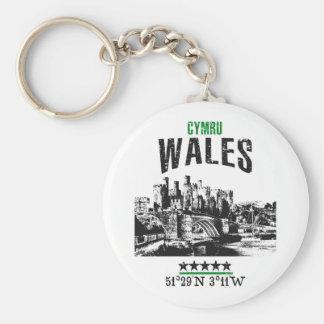 Wales Key Ring
