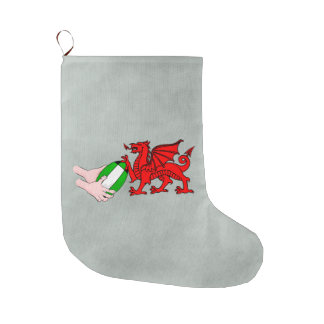 Wales Rugby Team  Dragon With Rugby Ball