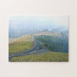 Wales Snowdon Welsh Landscape Railway Souvenir Jigsaw Puzzle