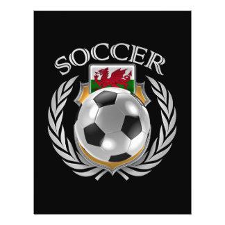 Wales Soccer 2016 Fan Gear 21.5 Cm X 28 Cm Flyer