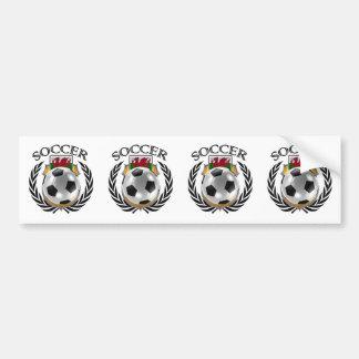 Wales Soccer 2016 Fan Gear Bumper Sticker