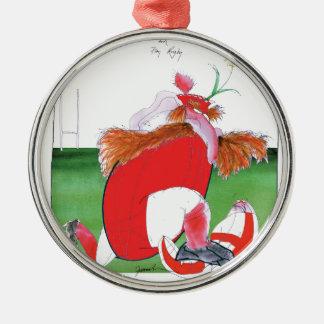 wales v england balls - from tony fernandes metal ornament