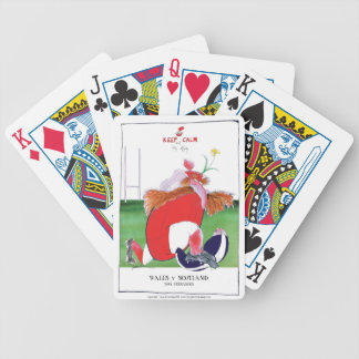 wales v scotland balls - from tony fernandes bicycle playing cards