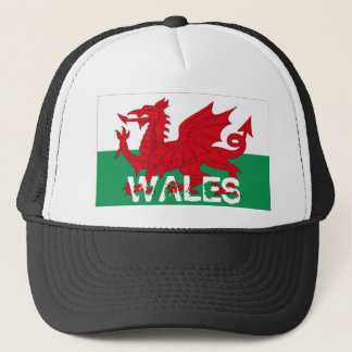 Wales welsh cymru flag souvenir hat