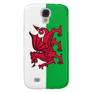 Wales -Welsh Flag Galaxy S4 Cases